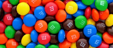 Amazing facts about M&Ms