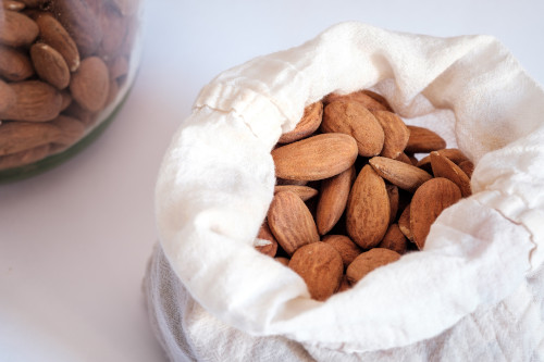Benefits of Almonds include young and healthy skin