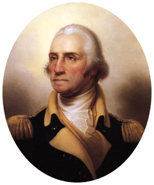 US President George Washington facts